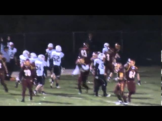 10-18-13 - Randy Baker scores from 7 yards out (Brush 13, Sterling 0)