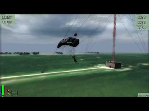 Base jumping First antenna backtrack