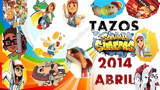 TAZOS 2014 Abril SUBWAY SURFERS