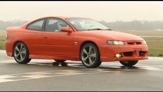 Holden Monaro power lap - Top Gear - BBC