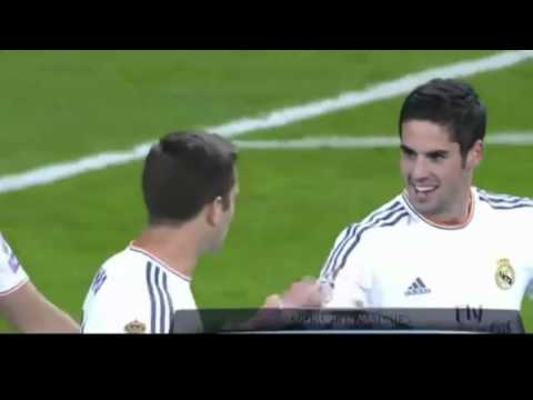 Gol de Isco, Real Madrid 4 vs Galatasaray 1 (27/11/13) sonido COPE