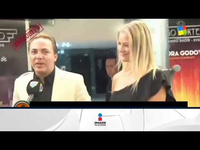 Cristian Castro estrena novia y no la quiso presentar