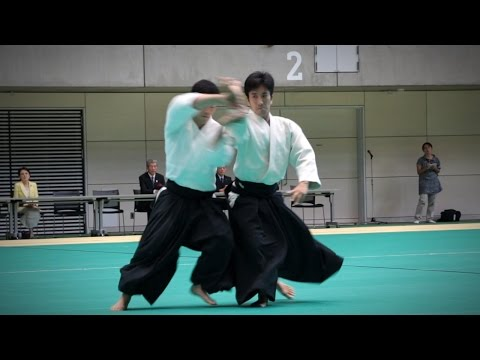 Mitsuteru Ueshiba (植芝充央) Dojo-cho - Aikido Demonstration - 12th IAF Congress (2016)