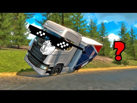 ETS2 MP FAILS & WINS #5 | Euro Truck Simulator 2 Funny Moments Compilation |