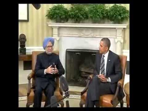US President Barack Obama meets PM Manmohan singh 2013