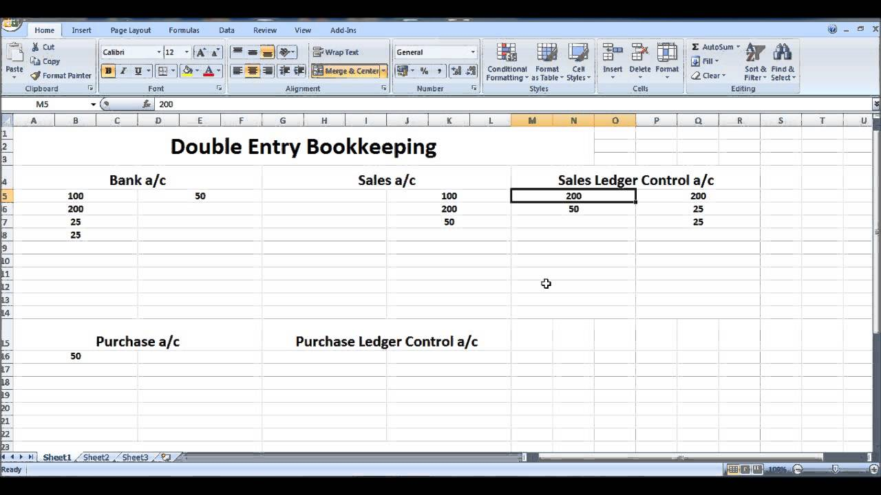 free online bookkeeping course  8 - control accounts