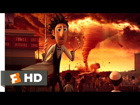 Cloudy with a Chance of Meatballs - Spaghetti Tornado Scene (4/10) | Movieclips