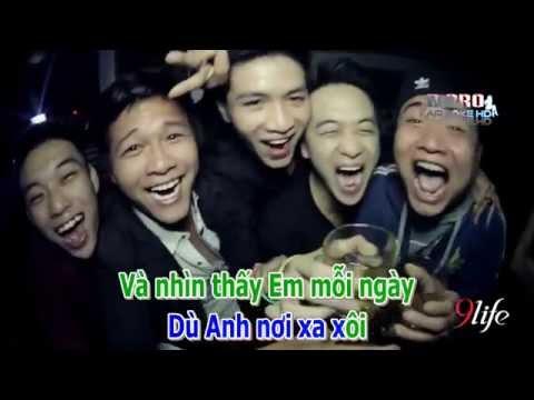 Karaoke HD Hanh Phuc Trong Anh La Em remix