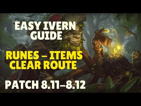 Best Runes, Item Builds and First Clear For Ivern Jungle - Easy Guide Season 8 (Patch 8.12)