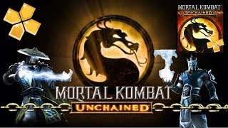 Mortal Kombat Unchained Para Android [PPSSPP] [ISO] [HD