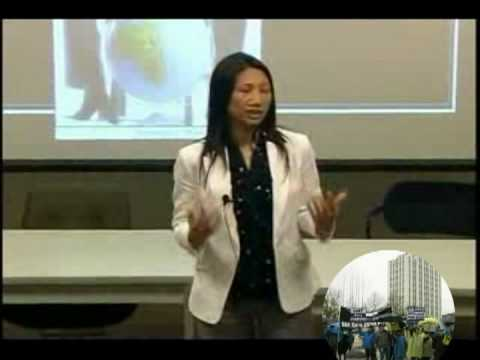 Madison Nguyen phát biểu