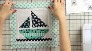 How To Make A Sail Boat Tooth Fairy Pillow Starting With A