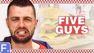 People Try Five Guys For The First Time