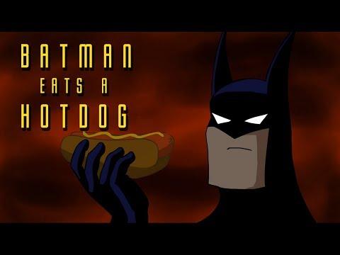 Betmen jede hotdog