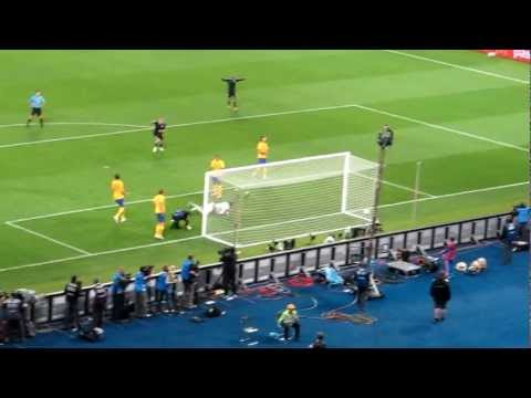 Danny Welbeck BackHeel goal HD ( England - Sweden ) - Live User Footage
