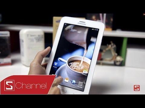 Schannel - Mở hộp Galaxy Tab 3 Lite - Tablet rẻ nhất của Samsung - CellphoneS