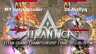 iAO Titan PM Final 2013-09-29: MY:HolyCrusader vs. DE:Niqllyc