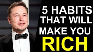 5 Habits That Made Elon Musk a Billionaire (Animated)