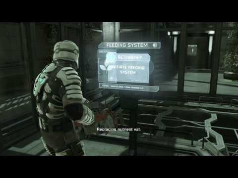 Let's Play Dead Space - Chapter 6 - Green House of Death (Part 2)