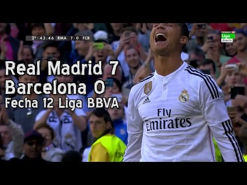 El clasico chế: Real 7-0 Barca
