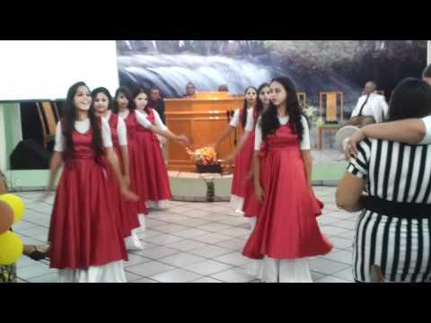 Grupo El Elion Coreografia da musica Coração de Mãe - Aline Barros