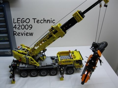 LEGO 42009 Technic Mobile Crane MK II Complete Review and Demonstration