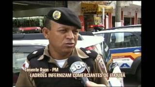 N�mero de assaltos crescente aterroriza comerciantes em Itajub�