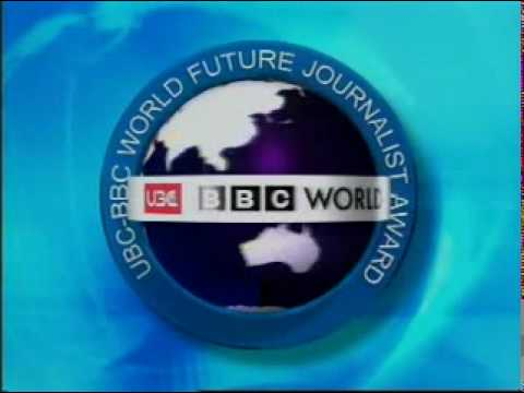 UBC-BBC WORLD : Future Journalist Award 2004-The Winner Spot