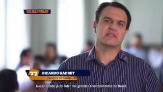 Programa de televisão – prefeito de Quaraí, Ricardo Gadret