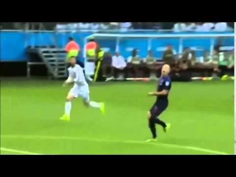 España vs Holanda 1 -5 Mundial Brasil  2014