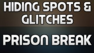 Hiding Spots + Glitches On Prison Break! (Call Of Duty