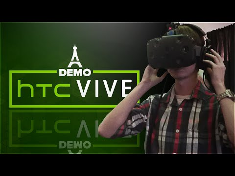 2016 année de la VR ! - Démo HTC Vive & Oculus à Paris