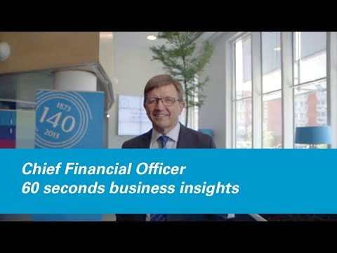 60 seconds of inspiration: Chief Financial Officer