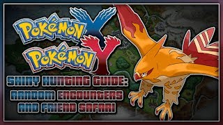 Pokémon X & Y Shiny Hunting Guide Random Encounters
