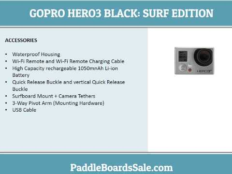 GoPro HERO3 Black Surf Edition – video review