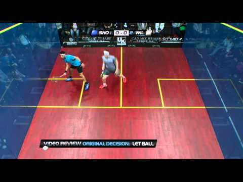 Squash : So You Think You Can Ref? EP.74 :Willstrop v El Shorbagy