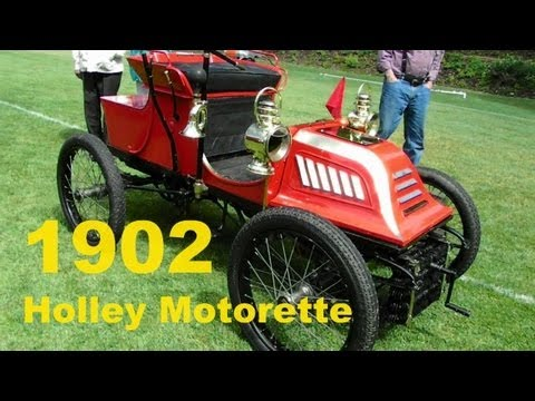 1902 Holley Motorette       Shawnigan Lake Show & Shine 2012