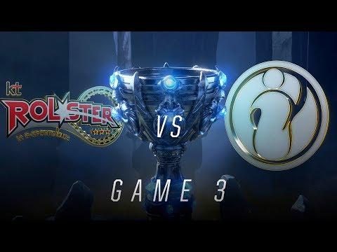 KT vs IG | Quarterfinal Game 3 | World Championship | kt Rolster vs Invictus Gaming (2018)