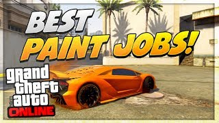 GTA 5 Paint Jobs: Best Rare Paint Jobs Online! (Camo
