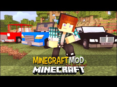 Minecraft Mod: Carros No Minecraft !! ( Caminhão,Caminhonete) Vehicular Movement Mod