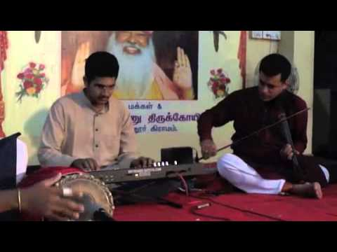 Pirava VaramTharum a Papanasam Sivan Krithi on Keyboard by Sathya & Team