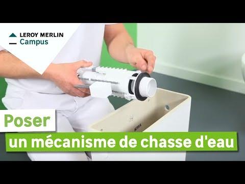 comment poser un m canisme de chasse d 39 eau leroy merlin youtube. Black Bedroom Furniture Sets. Home Design Ideas