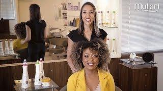 Academia Mutari - Aprenda a fazer a fitagem perfeita em cabelos cacheados ou crespos