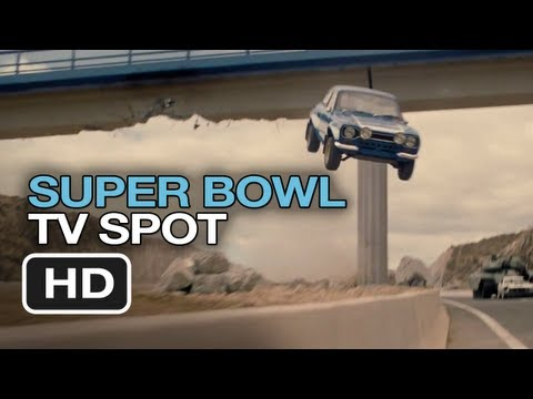 Fast & Furious 6 Official Super Bowl Spot (2013) - Vin Diesel Movie HD