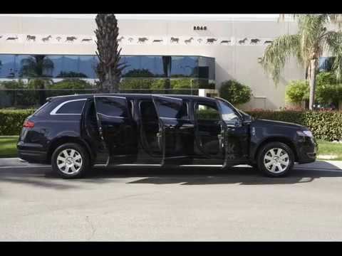 2013 Lincoln Mkt 6 Door 44 U0026quot  Stretch Family Car Limousine