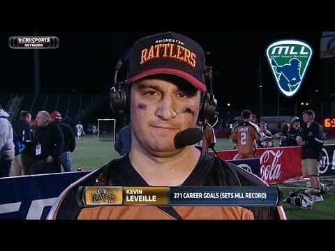 Kevin Leveille on 2OT win and Breaking MLL Goal Scoring Record