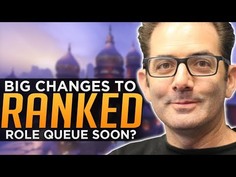 Overwatch: BIG Ranked Changes Coming! - Role Queue Finally?
