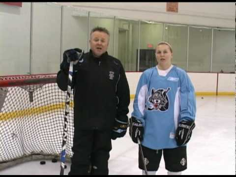 Youth Hockey Tips with Kenny McCudden - The Saucer Pass