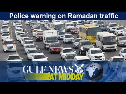 Police warn motorists to be careful during Ramadan - GN Midday