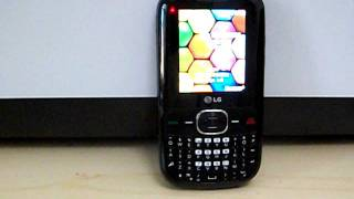 Tracfone LG500G Cell Phone.AVI